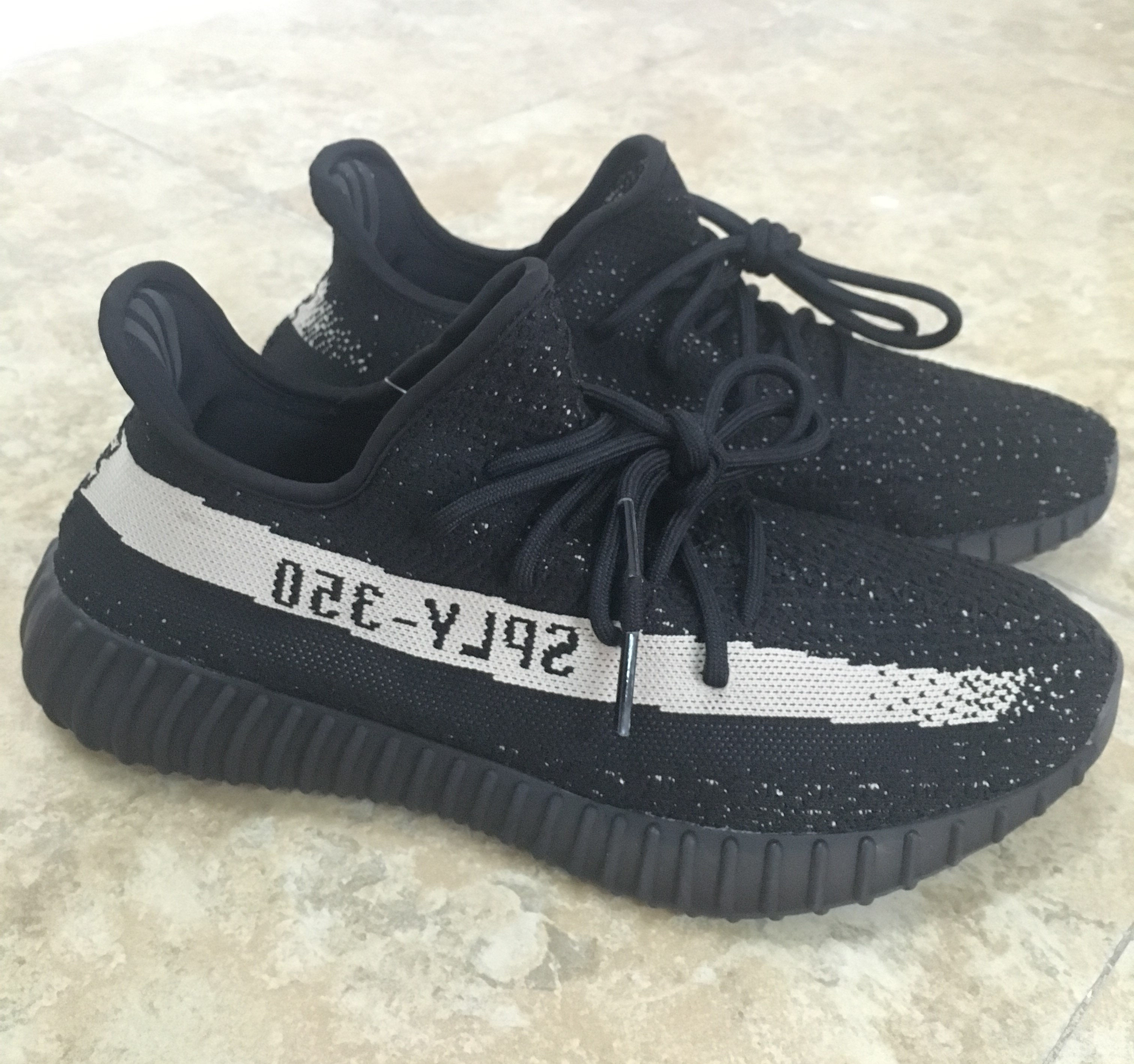 81ed4b47 Adidas Yeezy SPLY 350 Boost V2 Oreo Boost / Black White - Welcome To ...